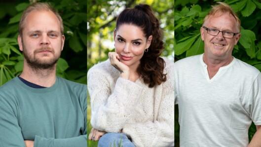 Mimir Kristjansson, Triana Iglesias og Per Sandberg på nye eventyr.