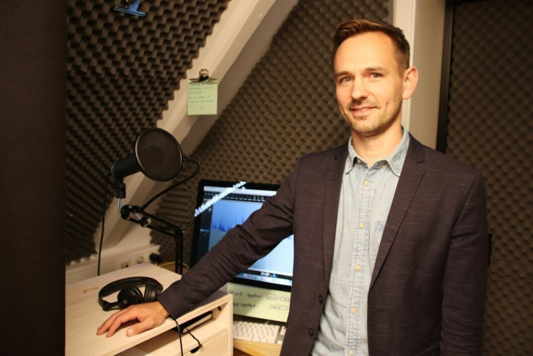Gregor Falkner, marknadssjef Dag og Tid.