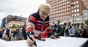Erna Solberg sparket i gang Rusken-aksjon mot netthat
