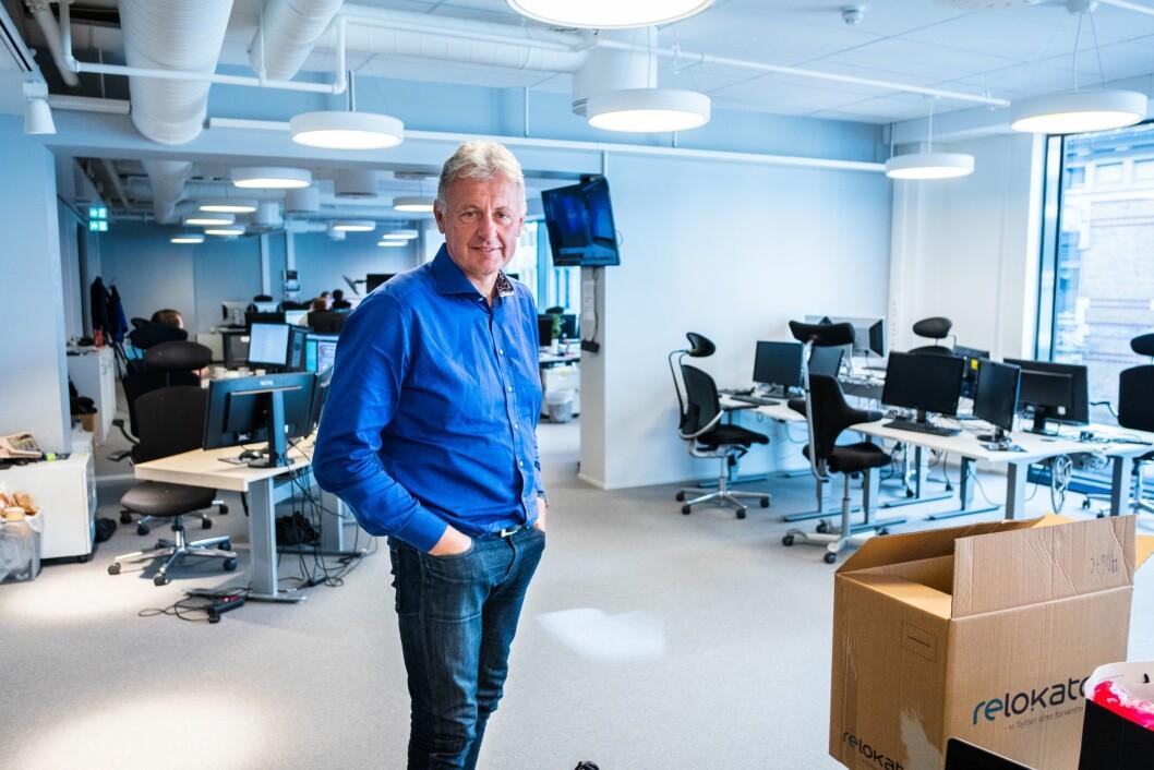 Sjefredaktør og administrerende direktør i Nettavisen, Gunnar Stavrum.