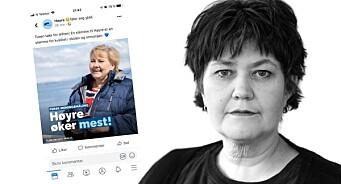 Høgre gjekk ut med upublisert Vårt Land-måling: – Skal ikkje skje