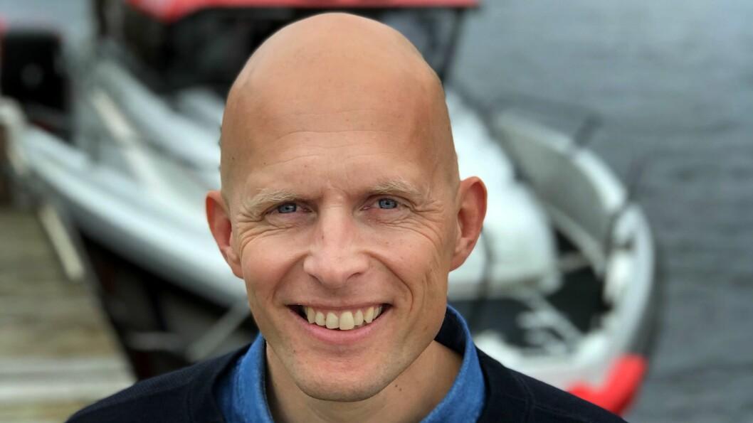 Hasse Lindmo går til Redningsselskapet
