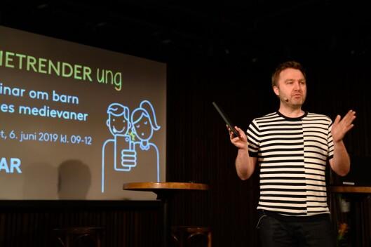 Nils Petter Strømmen, medieanalytiker i Kantar.