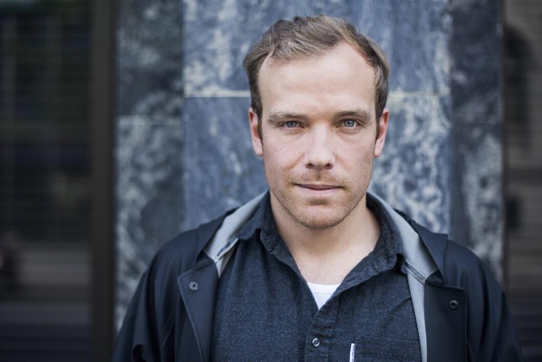 Erlend Paxal har overtatt redaktøransvaret i gatemagasinet =Oslo/=Norge. (Foto: BERRE)