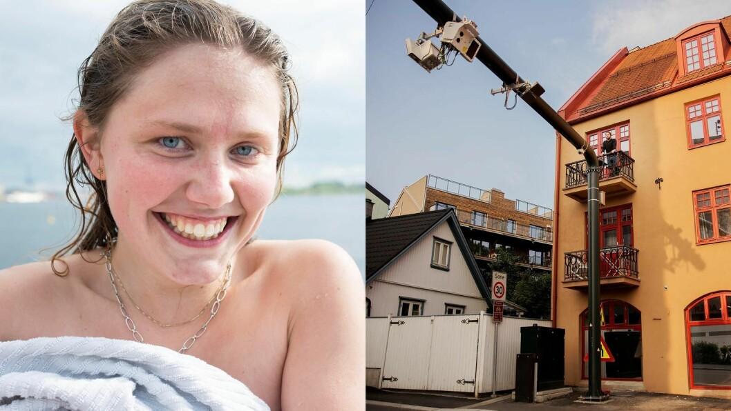 Sakene om Christa (24) som badet toppløs og mannen som fikk en bom på balkongen i Oslo er opprinnelig Dagsavisen-saker og hyppig delt. Men ikke nødvendigvis fra Dagsavisen.