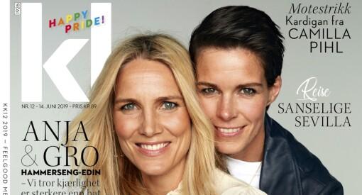Historisk forside i KK som vil bryte fordommer: For første gang pryder et lesbisk par førstesiden