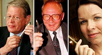 Gjennom tidende har det blitt delt ut 35 Gullpennen-priser. 34 har gått til Oslo-pressen: – Navlebeskuende
