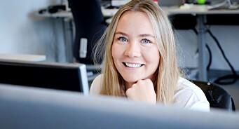 Pernille Elene Bjørtomt Hunes (27) er ansatt som vaktsjef i SOL