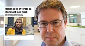 Dagbladet skrev sak om SV-politiker med hijab – måtte slette Facebook-posten på grunn av hets