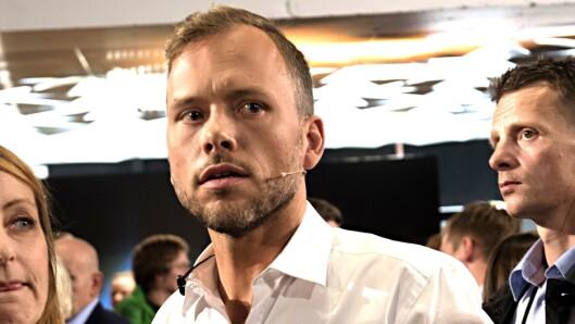 SVs partileder Audun Lysbakken reagerer sterkt på hetsen av sin kollega.