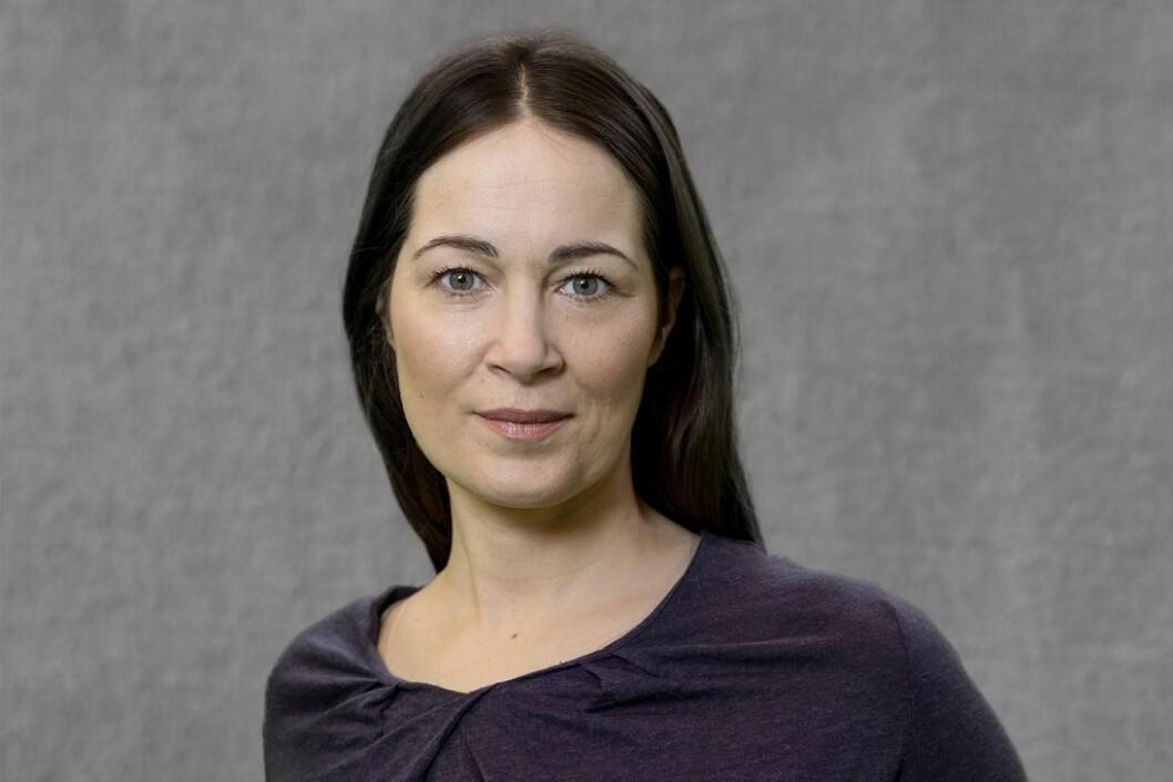 Kommunikasjonsdirektør Hanne McBride i Discovery sitter selv på hjemmekontor i disse dager.