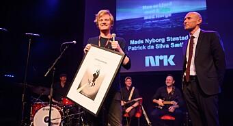 Mads Nyborg Støstad og Patrick da Silva Sæther vant Fortellerprisen for «Jakten på klimaendringene»