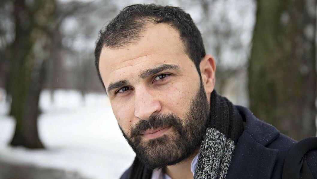 Afshin Ismaeli ansatt som journalist i Aftenposten