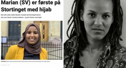 Dagbladet tjener penger. Marian Hussein betaler prisen