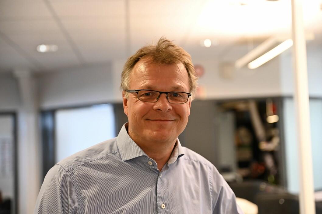 Daglig leder i Nordic Screens Nils Ketil Andresen. Foto: Anne Marthe Lilleby.