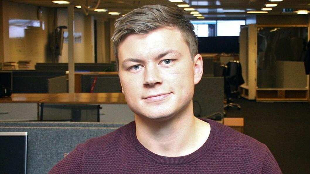 Jostein Larsen Østring har vært direktør for innholdsutvikling i Amedia. Nå blir han utviklingsdirektør.