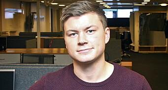 Amedia stokker om: Jostein Larsen Østring (28) blir utviklingsdirektør