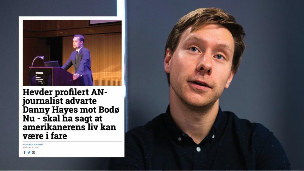 Bodø Nu og redaktør Markus André Jensen har skrevet en rekke saker om den amerikanske forretningsmannen Danny Hayes.
