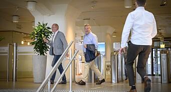 Her kommer presseekspertene ut fra Resett-møte hos NTB: Kalt inn etter bekymringsmelding