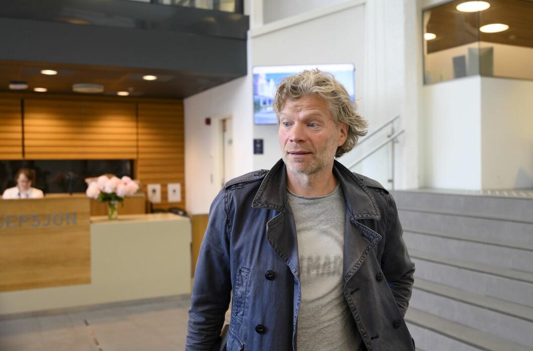 Advokat Knut Skaslien i Norsk Journalistlag.