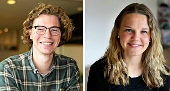 Ole Christian Nymoen (24) og Marie Lytomt Norum (25) er Budstikkas nye journalister