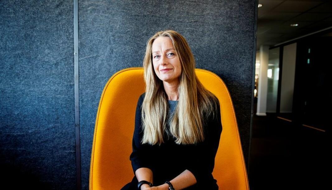 Eva Ler Nilsen, redaktør i Fagbladet.