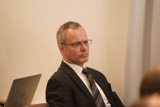 Nicolai V. Skjerdal som er advokaten til Lars Peder og Magnus Holøyen.
