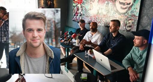 TV 2s Mathias Fischer ut mot pressen etter Alliansen-stunt fra komikere: – Nyttige idioter