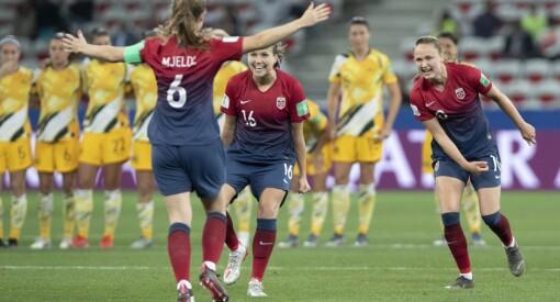 Nesten 900.000 så straffedramaet da Norge gikk videre i fotball-VM