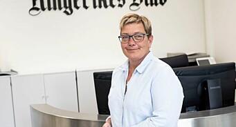 Sissel Skjervum Bjerkehagen (47) ny ansvarlig redaktør i Ringerikes Blad
