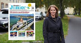 Aftenposten Junior har «klokke-bløffen» på forsiden - det skaper reaksjoner: – Innovasjon Norge bør beklage til barna