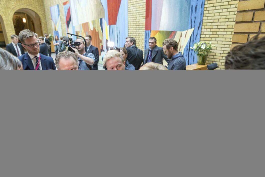 Statsminister Erna Solberg (H) - illustrasjonsfoto.