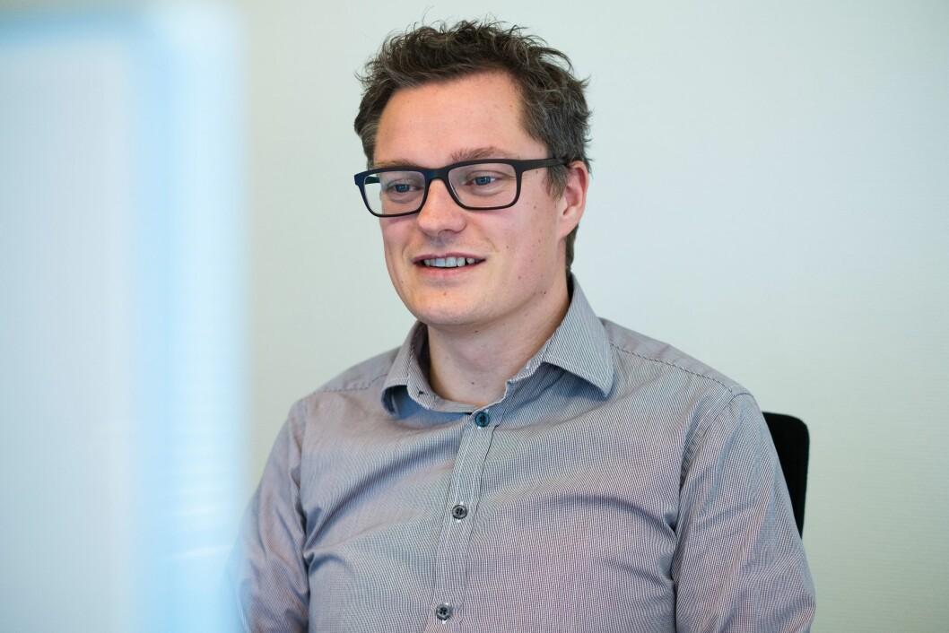 Christian Senning Andersen, sjefredaktør og administrerende direktør i Fremover