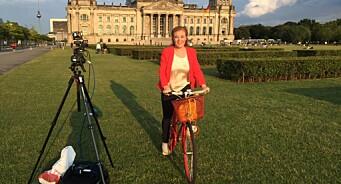 NRKs Berlin-korrespondent Guri Norstrøm har gitt stafettpinnen videre: – Nå skal jeg sove ut