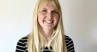 Ragnhild Vartdal (27) er ansatt som ny journalist i Khrono