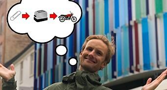Kan man bytte seg fra binders til bil? NRK P3s Peder Haugfos skal gjøre et forsøk i sommer