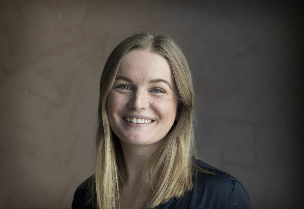 Zelia Moss hadde sommerjobb som konsernsjef i Adecco i fjor. Nå er hun klar for Fædrelandsvennen.