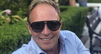 I sin første sommerjobb malte GroupM-sjef Martin Bentzen seg fast i en høyspentmast