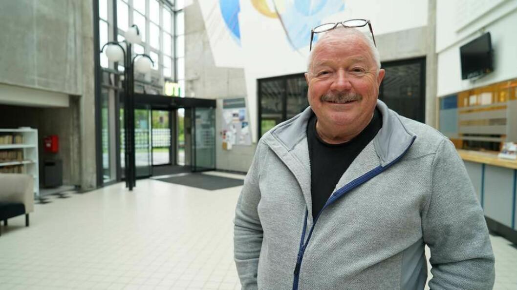 Magne Kveseth skal jobbe for Universitetet i Tromsø det neste året.