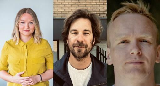 VG ansetter Runa Victoria Engen, Markus Tobiassen og Eiliv Frich Flydal
