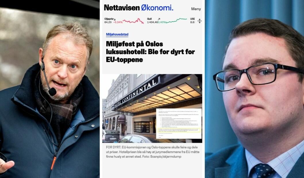 Byrådsleder Raymond Johansen (Ap) ut mot Nettavisens Espen Teigen: – Pressen skal gjøre sin jobb og titte oss i korta. Det ønsker jeg velkommen. Men de kan ikke være selektiv med realitetene.