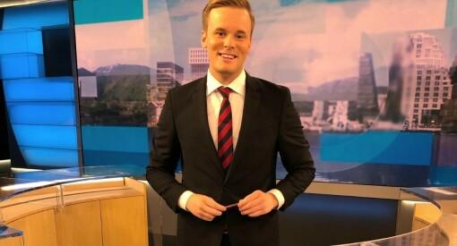 Cato Husabø Fossen (26) tar pause som politisk journalist. Nå blir han Dagsrevyen-anker