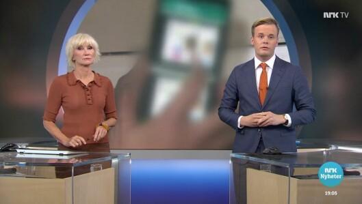 Cato Husabø Fossen debuterte som anker på Dagsrevyen mandag denne uken - sammen med Nina Owing.