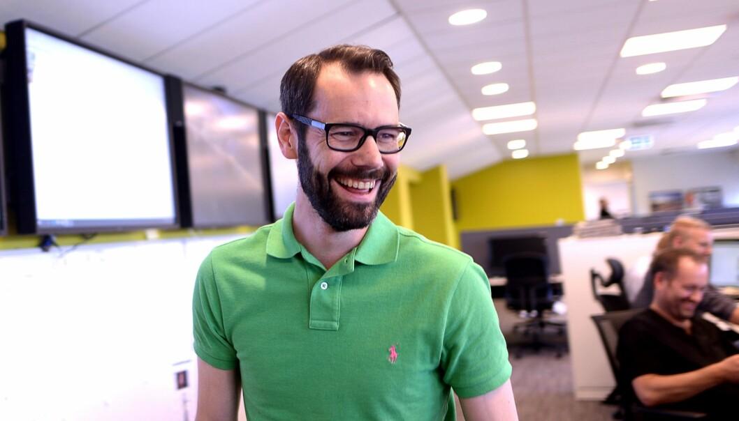 Ansvarlig redaktør i Varden, Tom Erik Thorsen.