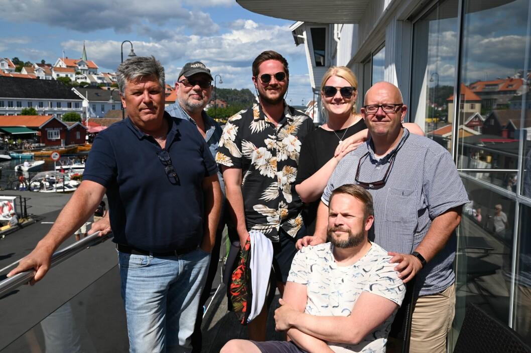 Sommer-redaksjonen i KV fra venstre: Per Eckholdt, Jimmy Åsen, Sondre Lindhagen Nilssen, Jeanette Brubakken, Nikolai Jørgensen og Trond Nøstvold Tou.
