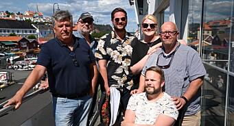 Kragerø Blad har all grunn til å nyte sola - fortsetter å øke i 2018