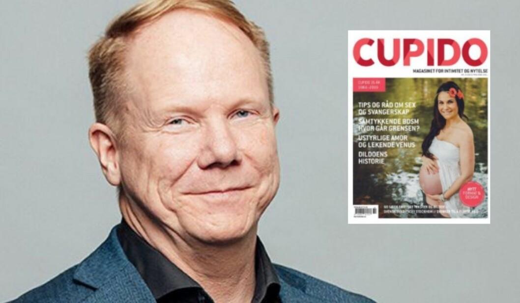 Sjefredaktør i Cupido, Tore Aasheim, gleder seg til å lansere Cupidos tekster på 20 nye språk.