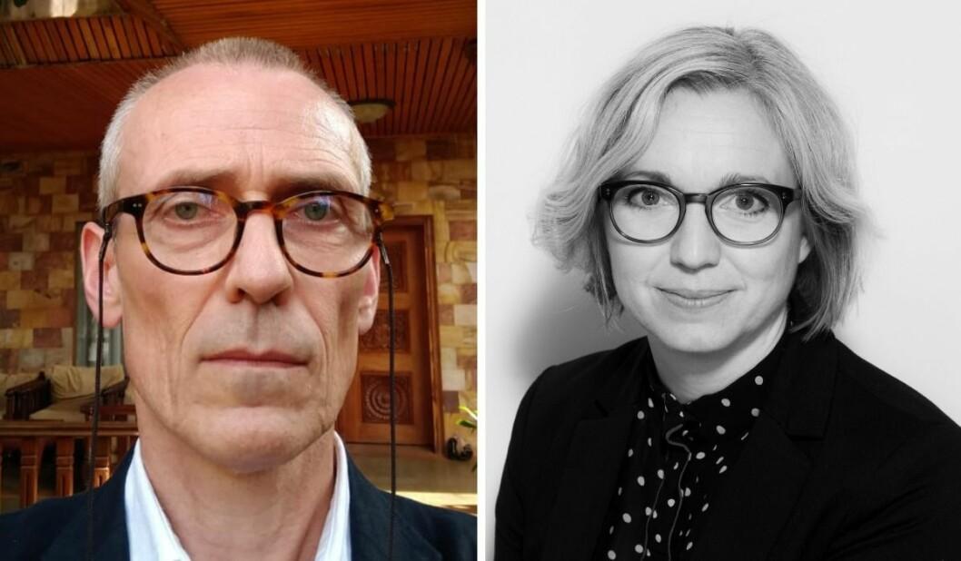 Document.nos Øyvind Thuestad og nyhetsredaktør i NTB Sarah Sørheim diskuterer hvordan nyhetsbyrået dekker og skriver om innvandring, migrasjon og flyktninger.