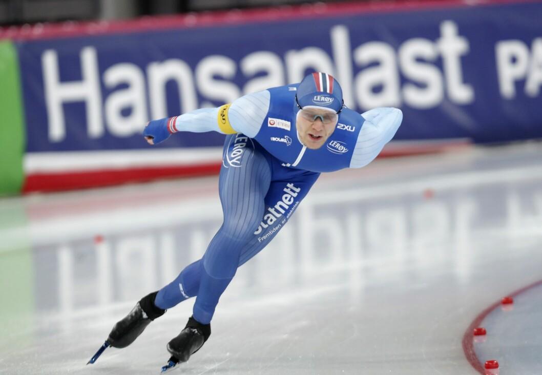 Håvard Holmefjord Lorentzen er Norges største skøytestjerne. De neste fire sesongene blir han å finne på NENT Groups kanaler.