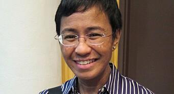 Redaktør Maria Ressa får Nobels fredspris: – Det mest uredde mennesket jeg har møtt
